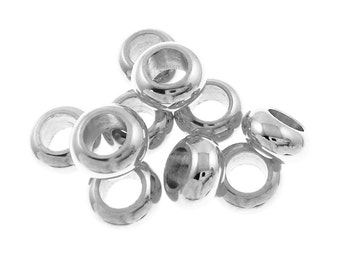 Timeline Treasures Beads and Charms for European Charm Bracelets Stainless Steel Spacers