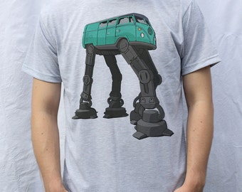 VW Transporter AT-AT T-Shirt Design