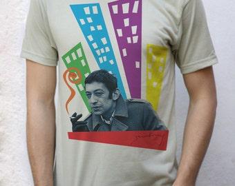 Serge Gainsbourg T shirt Design