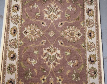 Nice hand knotted Jaipur Indian rug
