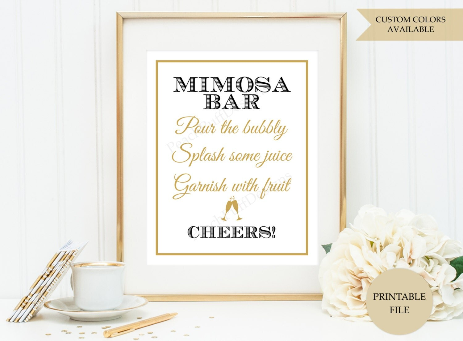 Superb image within mimosa bar printable