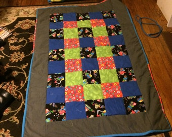 Kids pocket pillow and quilt!
