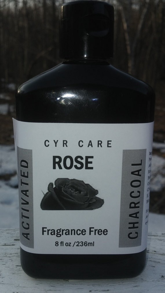 rose activated charcoal soap vanilla african black soap