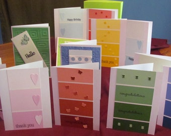 13 handmade boxed greeting cards (#47)