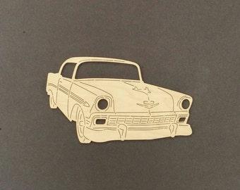 1956 CHEVY Car Wall Art(Birch Wood)