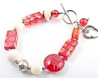 the chalumaux stone bracelet and acrylic