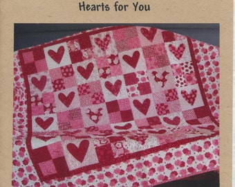 Hearts For You Quilt Pattern