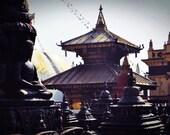 Swayambhunath Monastery Temple-Kathmandu