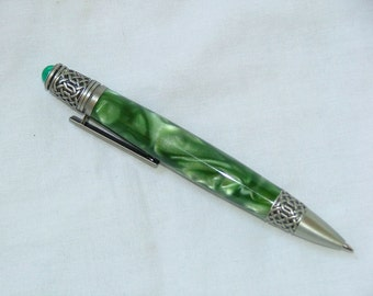 Pen, Hand Turned, Custome Acrylic