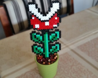 Items similar to super mario inspired piranha plant for Plante carnivore 01