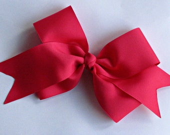 X-Large Boutique Bow | Mega Hairbow for Girls | Jumbo Pink Hair Bow