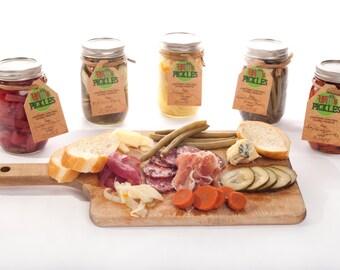 Full Line of Witt's Pickles Organic Pickles