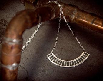 Luna necklace sterling silver