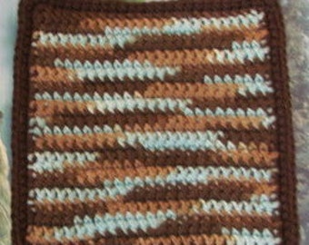 Double thick crochet hot pads