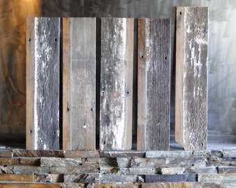 Reclaimed Grayed Red Wood Siding
