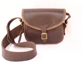 Pekee Maasai leather bag