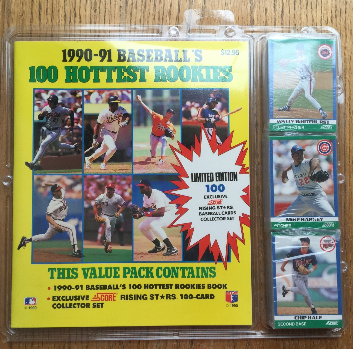 1990-91 Baseball's 100 Hottest Rookies Value Pack Score