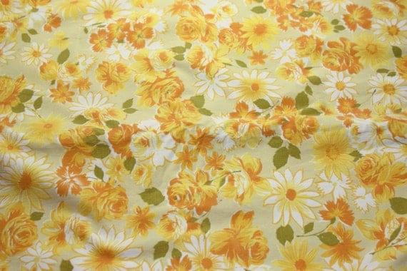 Orange Flat Sheet Twin Floral Twin Flat Sheet
