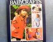 Vintage Craft book- The complete book of Babycrafts