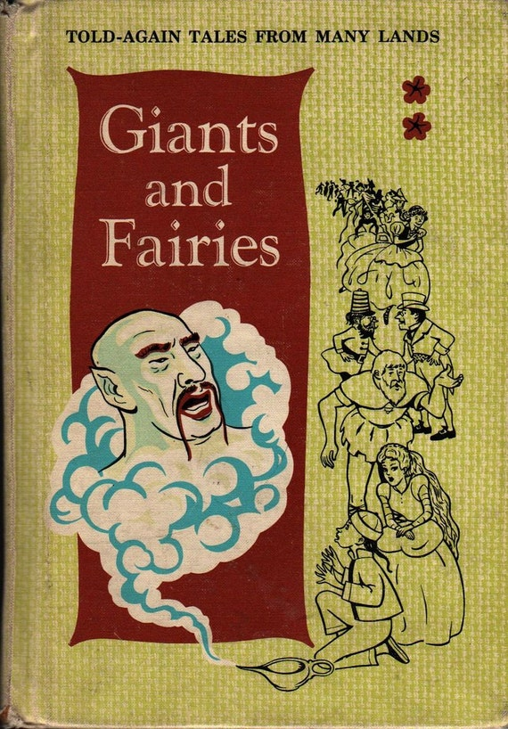 Giants and Fairies Told-Again Tales From Many Lands - Grace E. Potter and Constance Gilbert - 1964 - Vintage Kids Book