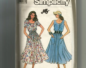 Simplicity Misses' Jiffy Dress Pattern 7944