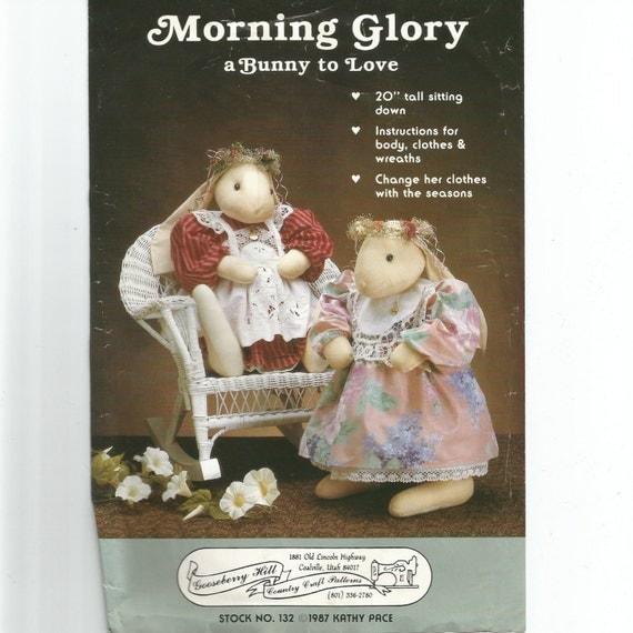 Morning Glory Bunny Morning Glory Bunny Doll