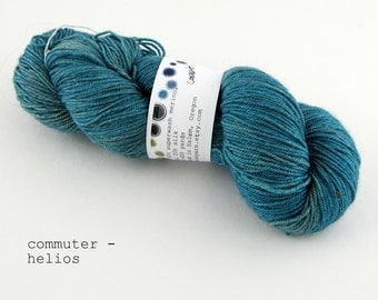 commuter - helios fingering weight (dyed to order)