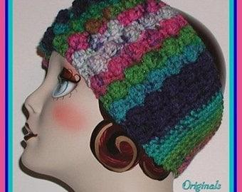 Colorful Headband Ski Gear Head Band Ear Warmer Magenta Blue Turquoise