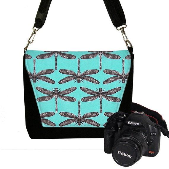 Luxury Camera Bag For Women - Handmade Vintage Ladies Retro Look Leather Canu2026