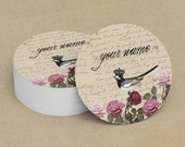 Custom Stickers  Custom Logo Stickers  Personalized Stickers  Product Labels  Adhesive Labels  Return Address Labels  Vintage Bird 8