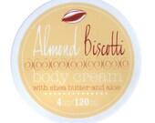 NEW - Almond Biscotti Shea Butter Body Cream - Vegan and Cruelty Free - 95% natural