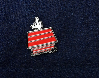 I'm Through Being Cool - Soft Enamel Lapel Pin