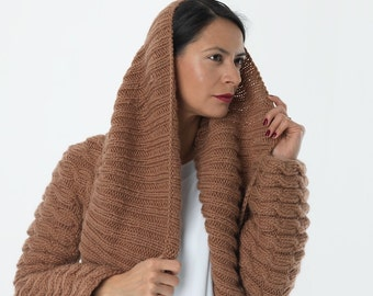 Victoria Coat - Cinnamon - Ready to Ship