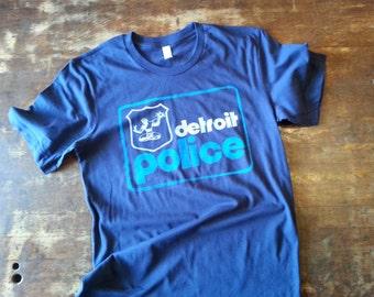 Detroit Police - Navy tee