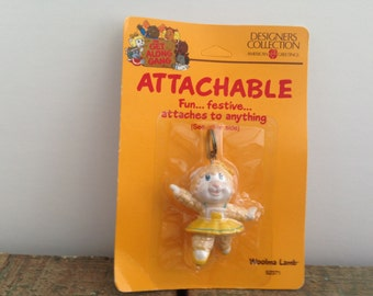The Get Along Gang Attachable Woolma Lamb Keychain New In Packaging Attachable