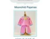 Moonchild Pajama Sewing Pattern in 2 sizes