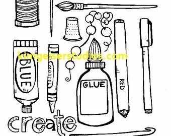 Tools of Creativity Digital Download