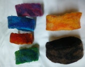RESERVED FOR MSMAC: 6 hand felted Bracelets