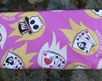 Case for playing cards, pouch for Munchkin cards or Cards Against Humanity, Cards and Skulls, The Carder