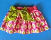 Skirt PDF Pattern - party skirt PDF pattern - Girls Skirt PDF pattern Baby to Teen