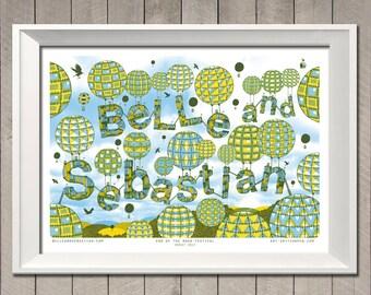 Belle and Sebastian gig poster
