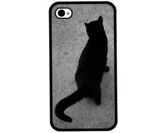 Phone Case - Black Cat Photo - Hard Case for iPhone 4, 4s, 5, 5s, 5c, SE, 6, 6 Plus, 7, 7 Plus - iPod Touch 4, 5/6 - Galaxy