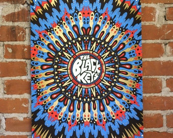 The Black Keys - Rochester, NY - Official Gigposter