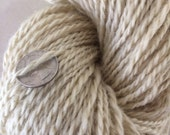Long Tall Sally wool handspun worsted weight ragg yarn 268 yards lot huge skein sock yarn knitting weaving natural rug yarn weft