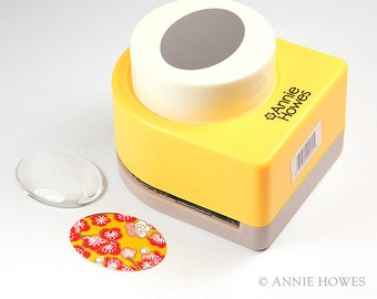 Oval Glass Cabochons Paper Punch 30mm x 40mm for Oval Glass Cabochons.