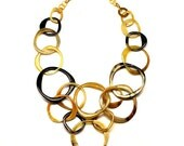 Horn Chain Necklace - Q5259