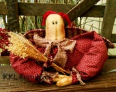 Primitive  Rag Doll Annie Angel