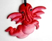 Red Cthupid Ornament