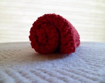 Red Cotton Dishcloth