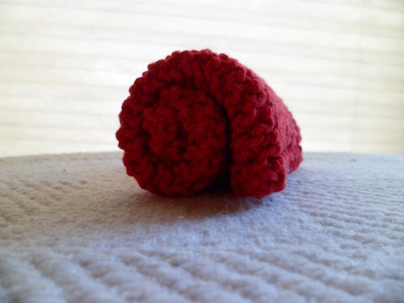 Red Cotton Dishcloth